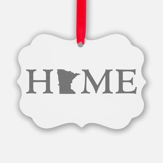 Minnesota Home Ornament