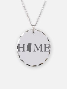 Mississippi Home Necklace