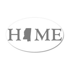 Mississippi Home Wall Decal