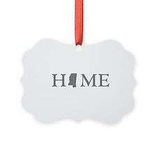 Mississippi Home Ornament