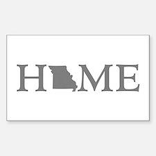 Missouri Home Sticker (Rectangle)
