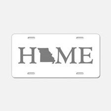 Missouri Home Aluminum License Plate