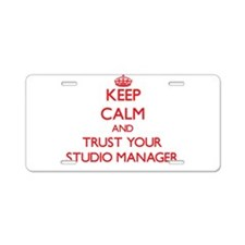 Keep Calm and trust your Studio Manager Aluminum L