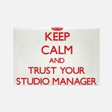 Keep Calm and trust your Studio Manager Magnets
