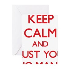 Keep Calm and trust your Studio Manager Greeting C