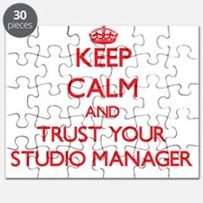Keep Calm and trust your Studio Manager Puzzle