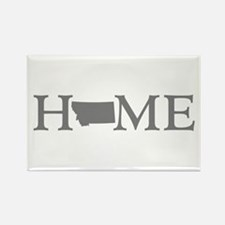 Montana Home Rectangle Magnet