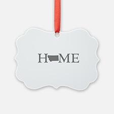 Montana Home Ornament