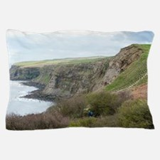Robin Hoods Bay walk Pillow Case
