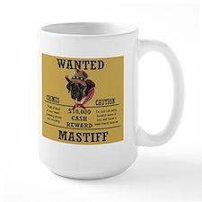 Wanted mastiffMug