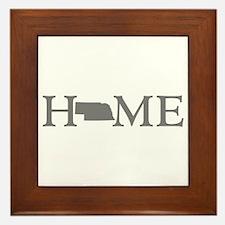 Nebraska Home Framed Tile
