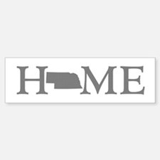 Nebraska Home Sticker (Bumper)