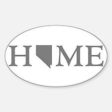 Nevada Home Sticker (Oval)