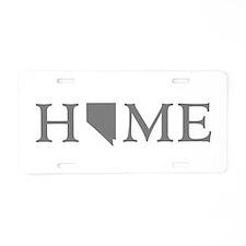 Nevada Home Aluminum License Plate