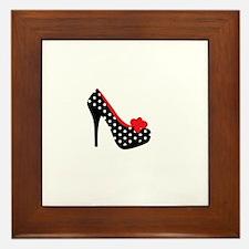 High Heels Lady Shoes Framed Tile