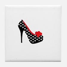 High Heels Lady Shoes Tile Coaster