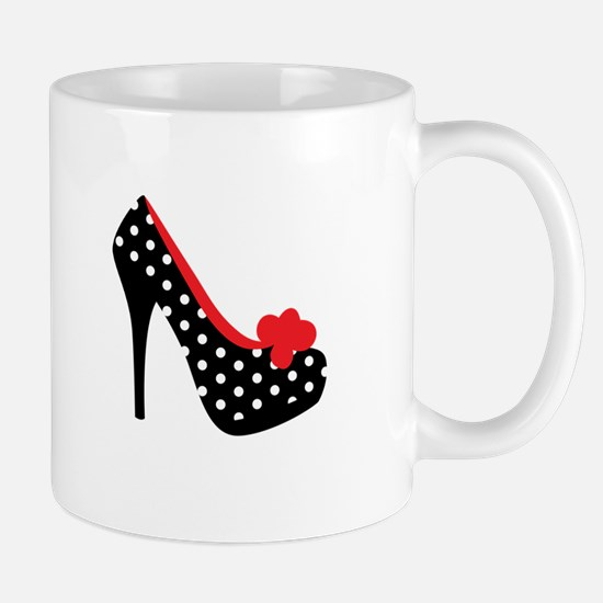 High Heels Lady Shoes Mugs