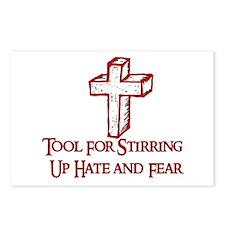 Hate Tool Postcards (Package of 8)