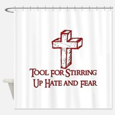 Hate Tool Shower Curtain