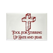 Hate Tool Rectangle Magnet (10 pack)