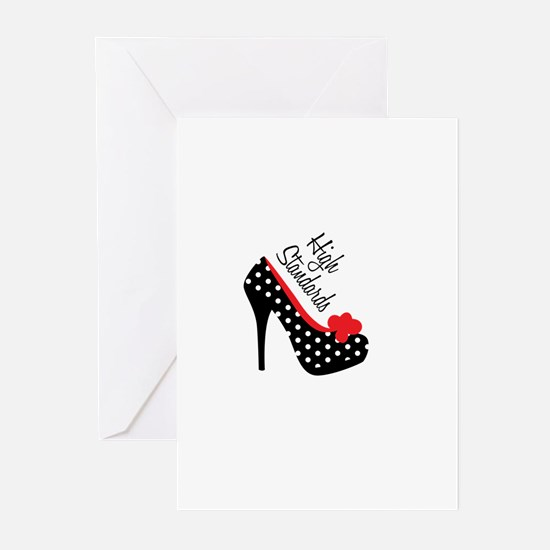 High Standards Greeting Cards