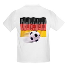 Soccer Flag Deutschland (B) T-Shirt