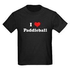 I Love Paddleball T