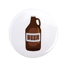 "Beer 3.5"" Button"