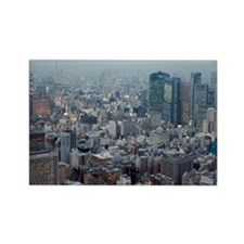 sky tree view Rectangle Magnet