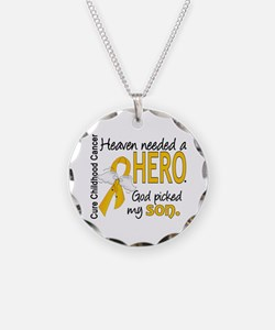 Childhood Cancer HeavenNeede Necklace