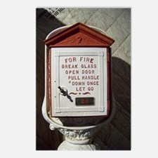 Vintage Fire Postcards (Package of 8)