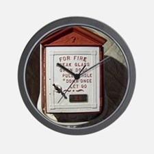 Vintage Fire Wall Clock