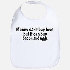 bacon and eggs (money) Bib
