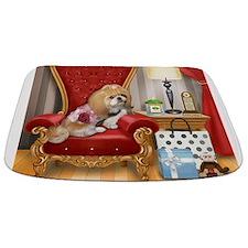 Shih Tzu Mocha Living Room Bathmat