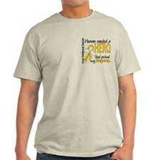 Childhood Cancer HeavenNeededHero1 T-Shirt