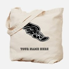 Custom Winged Running Shoe Tote Bag