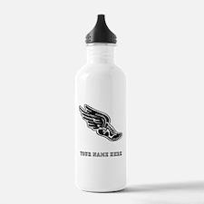 Custom Winged Running Shoe Water Bottle