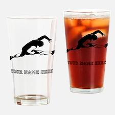 Custom Hurdler Drinking Glass