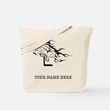 Custom Hurdler Girl Tote Bag
