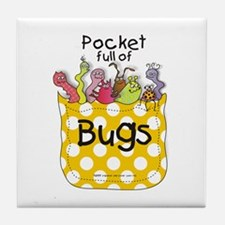 Pocket full of Bugs! #5 Tile Coaster