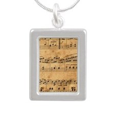 Sheet Music, Vintage, Necklaces