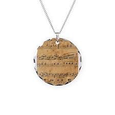 Sheet Music, Vintage, Necklace