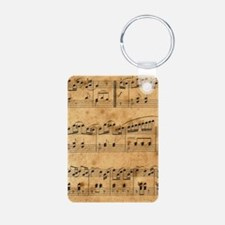 Sheet Music, Vintage, Keychains