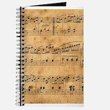 Sheet Music, Vintage, Journal