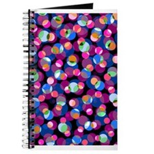 Cute, Retro, Dots Journal