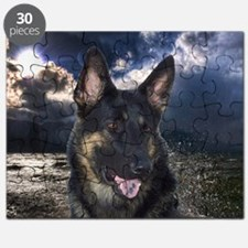 German Shepherd Ocean Puzzle