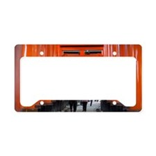 red torii gates License Plate Holder