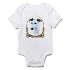 Whippet Christmas/Holiday Infant Bodysuit