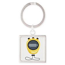 Sports Stopwatch Timer Keychains