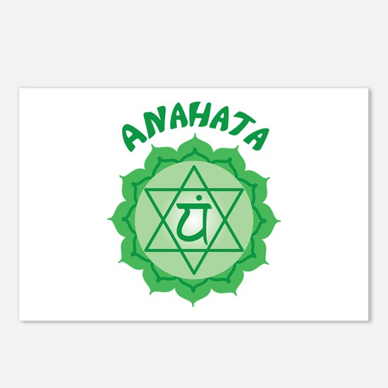 Anahata Postcards (Package of 8)